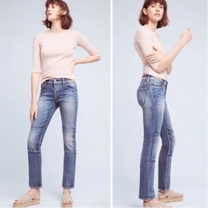Pilcro and the Letterpress Parallel Patch Jeans 28